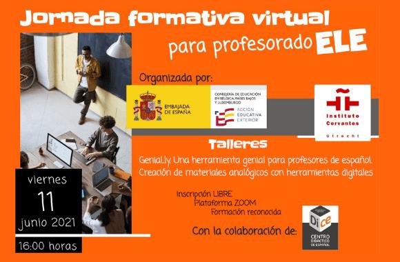 Digitale studiedag voor Spaanstalige docenten